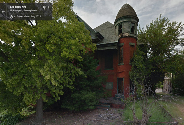 Bailey Mansion is really a photo of McKeesport, PA