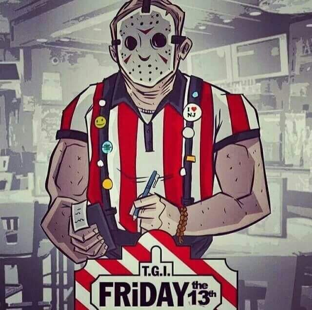 TGIFridays the 13th