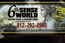 6th Sense World® Historic Ghost & Cemetery Tours