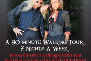 A Ghostly Encounter Walking Ghost Tours
