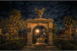Blue Orb Savannah Ghost Tours