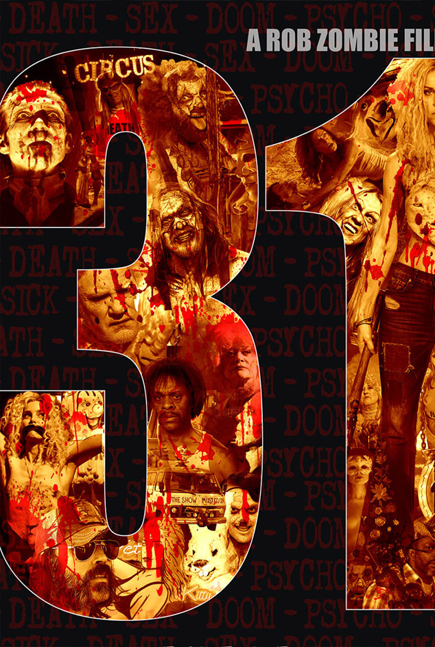 31 Movie Poster - Rob Zombie