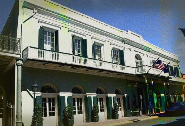 Haunted Bourbon Orleans Hotel