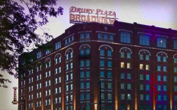 HAUNTED DRURY PLAZA HOTEL BROADVIEW