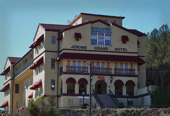 Haunted Jerome Grand Hotel
