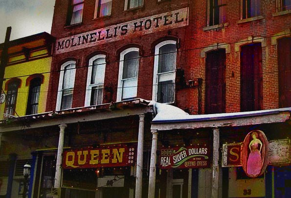 Haunted Silver Queen Hotel