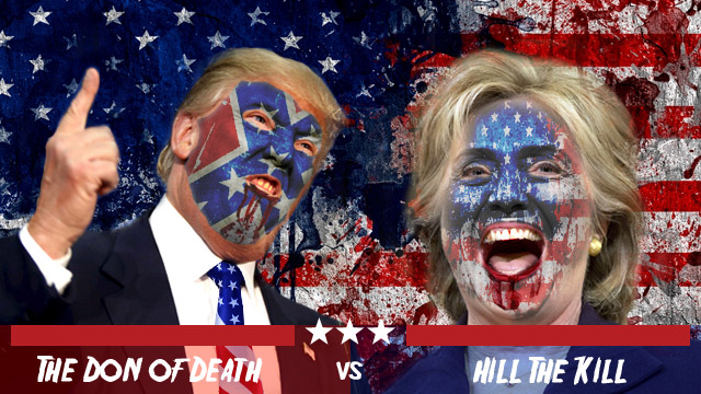 The Purge: Presidential Election - Trump vs Clinton