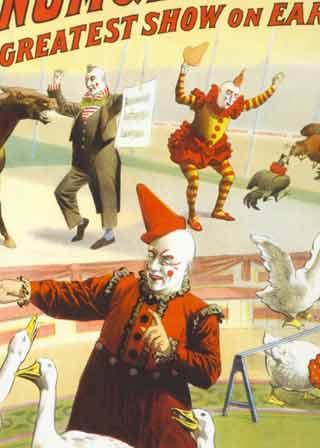 Classic Circus Clowns