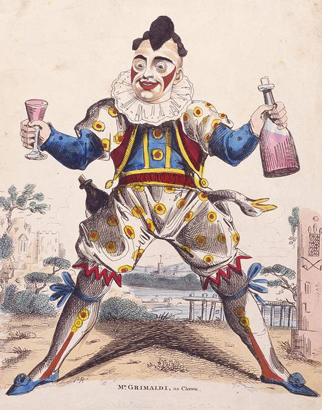 Grimaldi The Clown