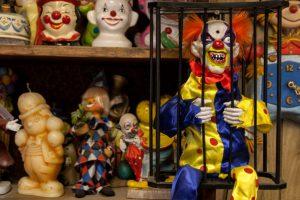 Inside the Clown Motel