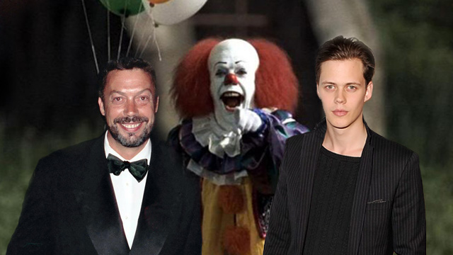 Skarsgard, Curry, and Pennywise