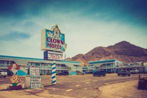 The Clown Motel in Nevada