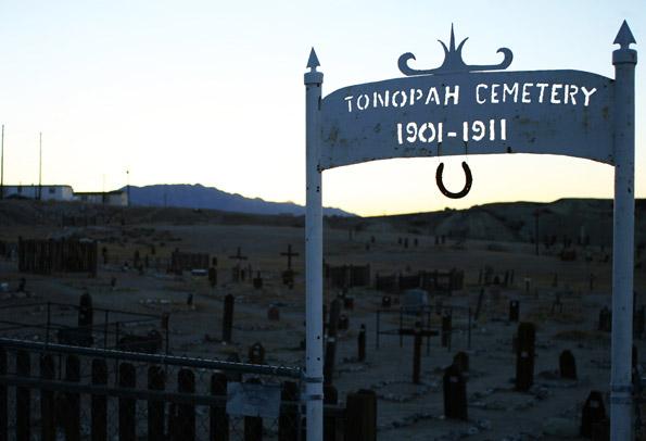 Tonopah Cemetery - Clown Motel