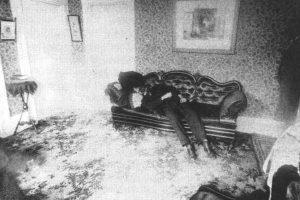 Lizzie Borden Ax Murder Crime Scene