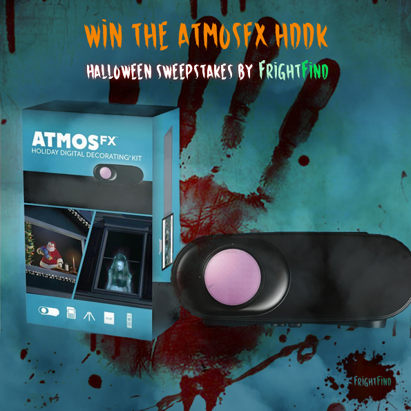 Win AtmosFX Just In Time For Halloween Sweepstakes
