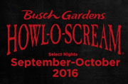 Top Haunted Houses in Florida - Howl-O-Scream At Busch Gardens