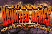 Top Haunted Houses in Indiana - Hanna Haunted Acres