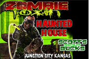 Top Haunted Houses in Kansas - Zombie Toxin