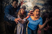 Top Haunted Houses in Massachusets - Hysteria At Connors Farm