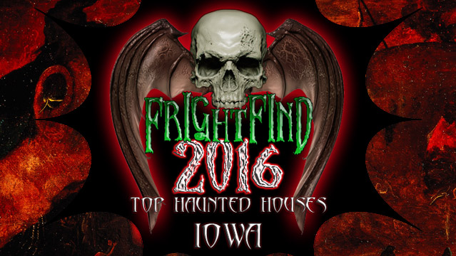 Top Haunted Houses in Iowa - FrightFind