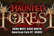 Top Haunted Houses in Utah - Haunted Forest