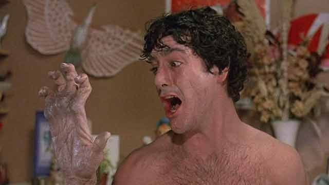 An American Werewolf in London Transformation Scene