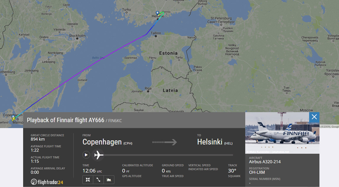 Flight 666 to Hel