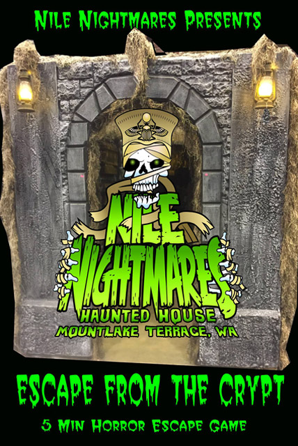 Nile Nightmares Haunted House - ESCAPE FROM THE CRYPT