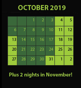 Nile Nightmares Haunted House in Mountlake Terrace Open Dates Calendar