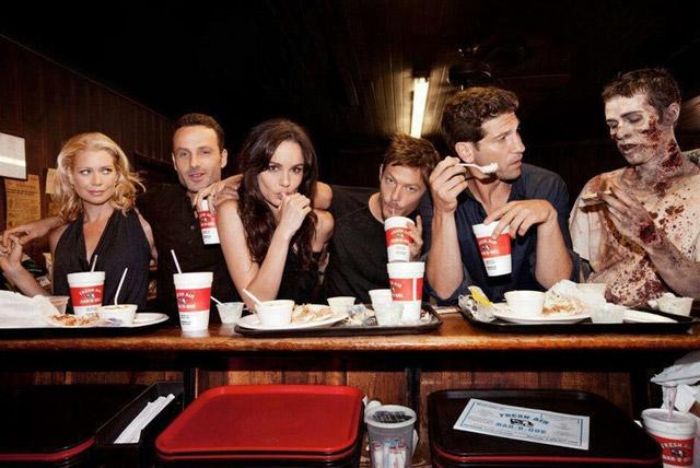 The Walking Dead Last Supper