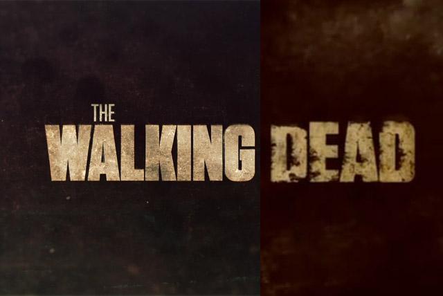 Walking Dead Title Cards