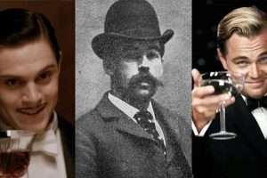 H.H. Holmes actor Leonardo DiCaprio and Evan Peters