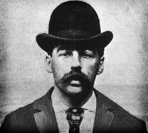 H.H. Holmes, America's 1st Serial Killer, Official Mugshot