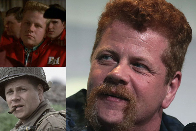 Michael Cudlitz in The Walking Dead, Mighty Ducks, and Band of Brothers