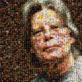 Stephen King Photo Mosaic using all of his book covers