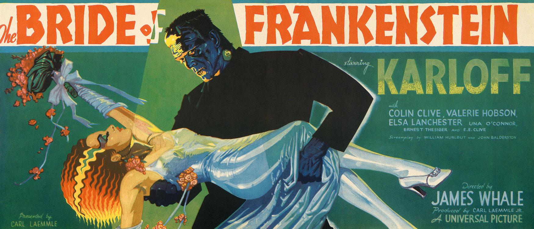 Kirk Hammett's It's Alive - Bride of Frankenstein Poster