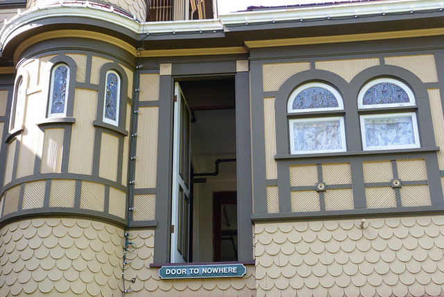 Door to Nowhere - Winchester Mystery House
