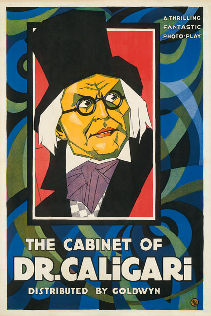 Kirk Hammett's It's Alive - The Cabinet of Dr. Caligari Poster
