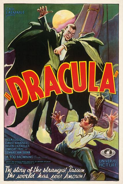 Kirk Hammett's It's Alive - Dracula Poster