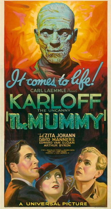 Kirk Hammett's It's Alive - Mummy Poster
