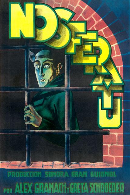 Kirk Hammett's It's Alive: Nosferatu Poster