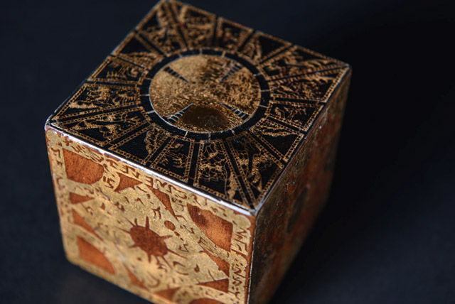 Scared to Death Exhibit - Hellraiser Box