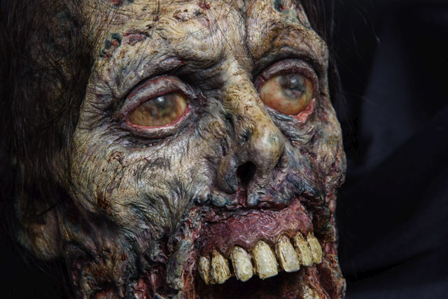 Scared to Death Exhibit - Walking Dead Heads