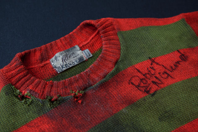 Scared to Death Exhibit - Freddy Krueger Sweater