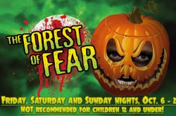 Forest of Fear Haunted House in Tuxedo, NY