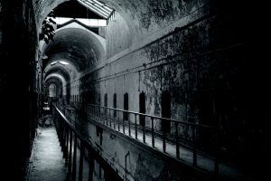 Haunted Eastern State Penitentiary Cell Block