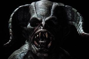 Into the Black Pomona Haunted House Demon