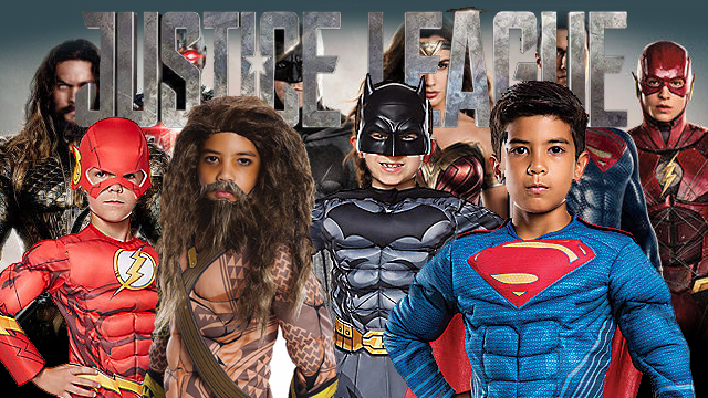 The Justice League  sc 1 st  FrightFind & Top Halloween Costumes for Boys in 2017 - FrightFind