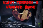 NIGHT TERRORS 13 HAUNTED HOUSE