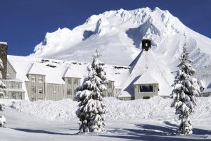 The Shining Hotel Exterior - Timberline Lodge in Oregon